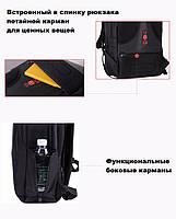 Самый большой рюкзакдля ноутбука Tigernu T-B3032, 33 л, фото 5