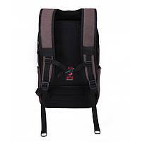 Стильный рюкзак для девушек T-B3174 , кофе, фото 3