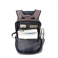 Стильный рюкзак для девушек T-B3174 , кофе, фото 4