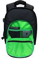 Компактный Рюкзак мужской Tigernu T-X6007, черный, зеленый, фото 7