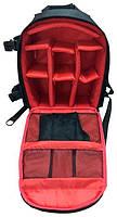 Рюкзак мужской Tigernu T-X6007, черный, красный, фото 2