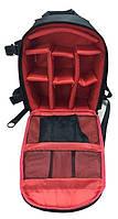 Рюкзак мужской Tigernu T-X6007, черный, красный, фото 7