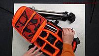 Рюкзак мужской Tigernu T-X6007, черный, оранжевый, фото 2