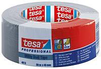 Тканинна стрічка TESA Utility Duct Tape, срібна 50м х 48мм