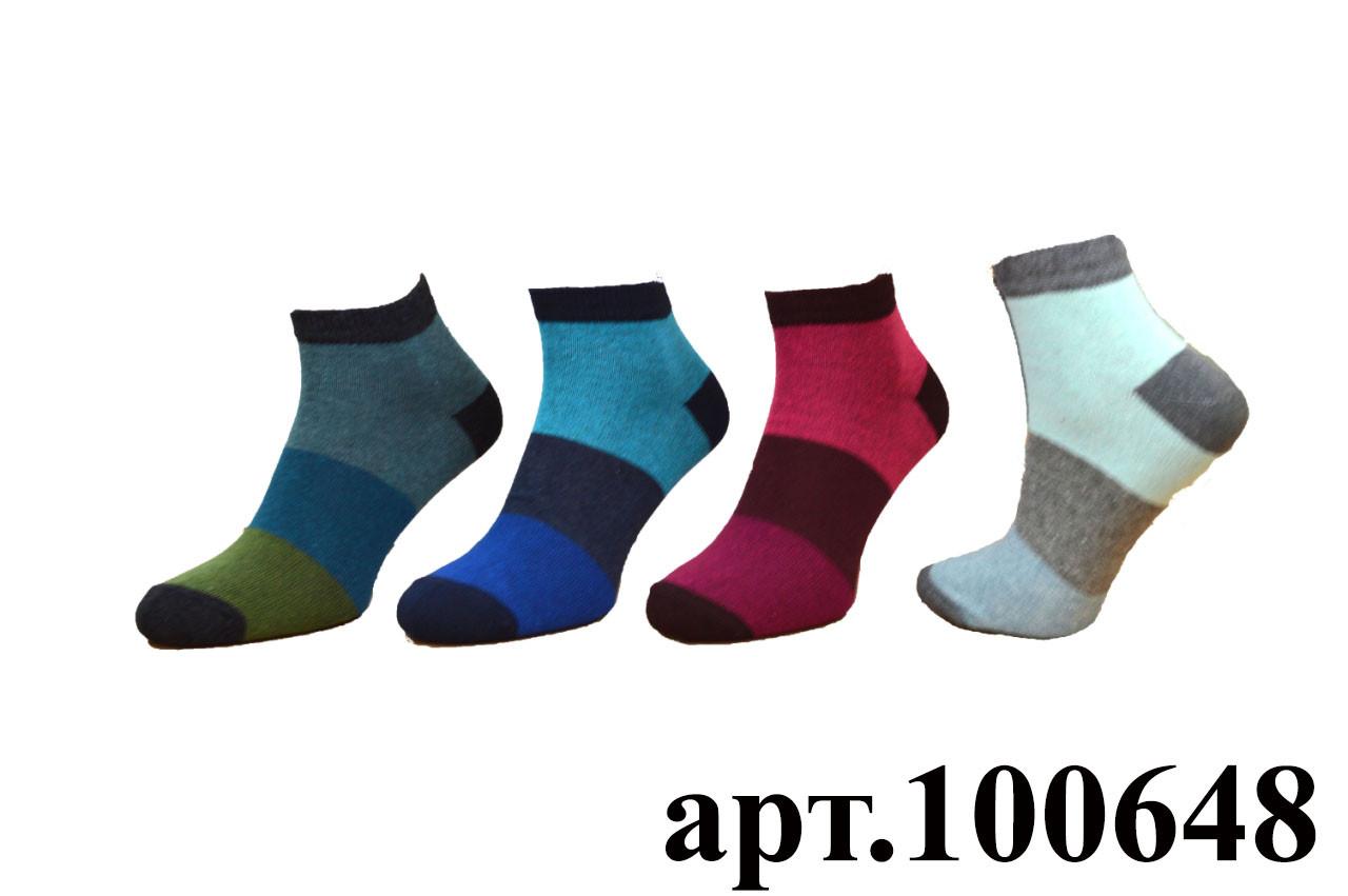 Шкарпетки спортивні жіночі SOI 23-25 р. (36-40) * 635 / смуги