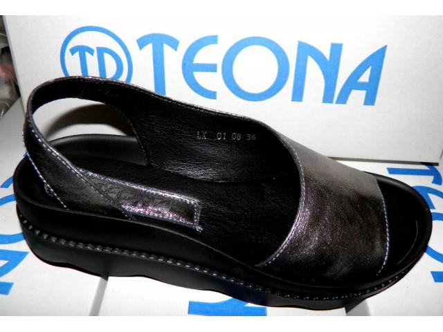 Босоножки * женские TEONA 115 никель * 20065