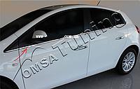 Окантовка стёкол Fiat Bravo (2008+) (6 шт)