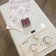 Газовая колонка Ariston Superlux DGI 10 L (автомат, дымоходная) Преимущества Ariston DGI 11 L защита от накипи; устойчивая работа при пониженном расходе воды и давлении газа; теплообменник с увеличенным диаметром патрубков.