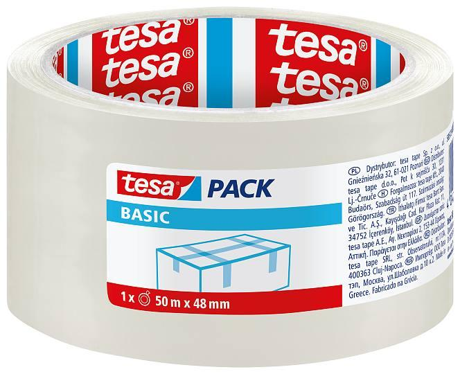 Пакувальна стрічка TESA Pack Basic 50м х 48мм