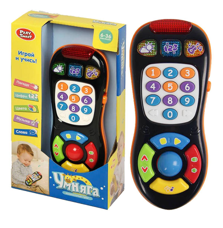 Музыкальная игрушка Play Smart Умняга Пульт чёрный (7390)