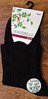 """Жіночі бамбукові шкарпетки """"Montebello"""",Туреччина 36-40 чорні"""
