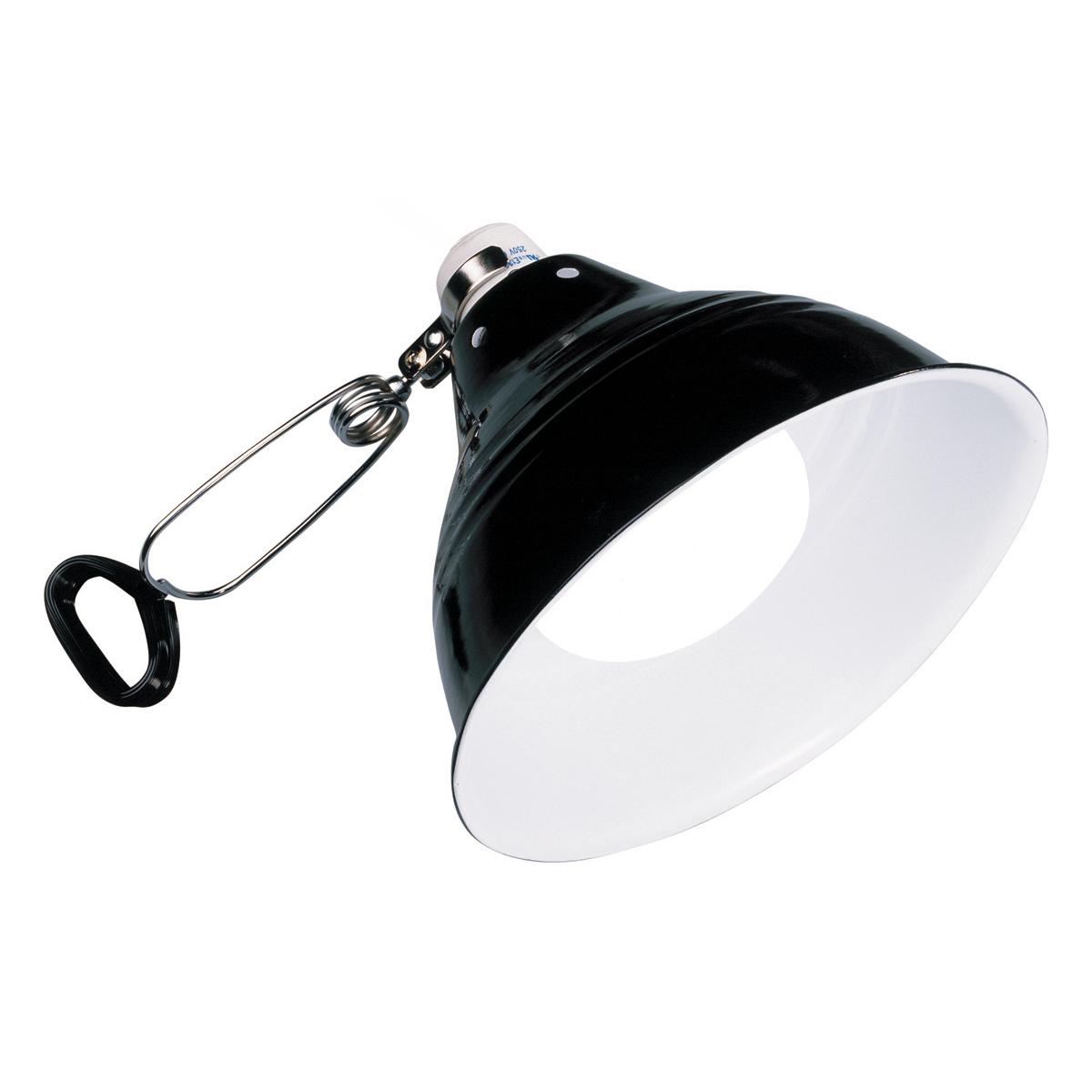 Плафон для лампы Exo Terra «Glow Light» с отражателем E27, d=14 см