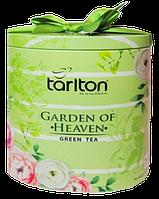 Чай зеленый Райский Сад Тарлтон 100 г Саусеп Tarlton Garden of Heaven с бантиком
