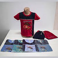 """Детский летний костюм футболка с шортами """"Гитара""""  5761"""