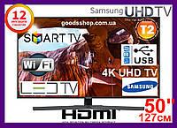 "Телевизор Samsung Самсунг 50 дюймов 4K Ultra HD Smart TV UE50NU7400 Т2 WiFi LED Телевізор 50"" (127см) 2018 (A), фото 1"