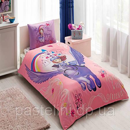 Детское постельное бельё TAC  Disney Sofia & Minimus (София и Минимус)