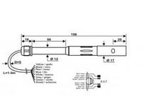 Датчик электропроводимости и температуры SPT86 (К=0,7)