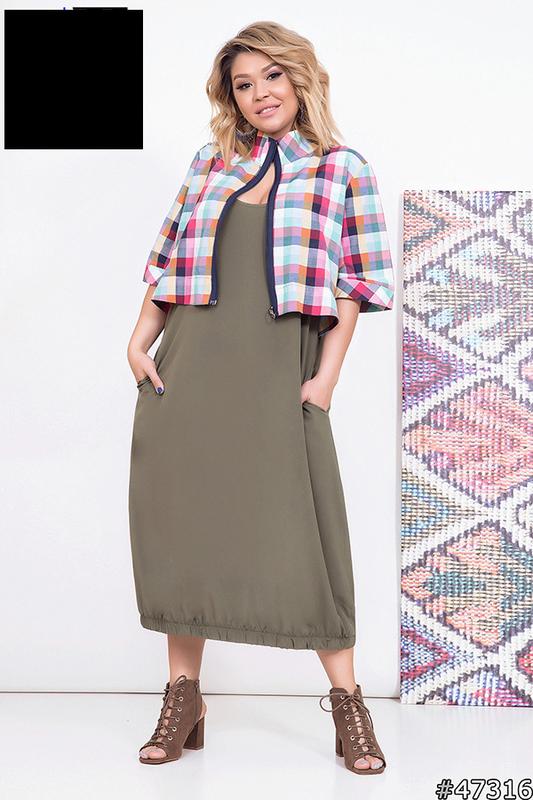 Платье женское, размер:52-62