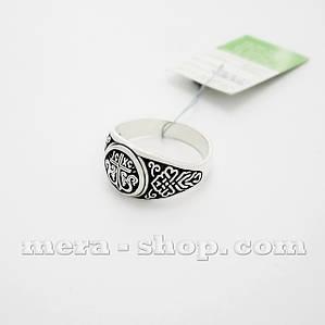 Серебряный перстень Процветший Крест
