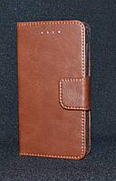 Чехол-книжка универсальный коричневый,4,0-4,5