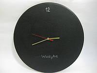 Меловые часы настенные, круглые