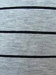 Футболка с длинным рукавом мужская полосатая трикотажная (Украина), фото 5