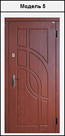 Металлические двери входные с МДФ (10мм) накладками 2020х860