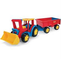 """Трактор """"Гигант"""" с ковшом и прицепом 66300"""