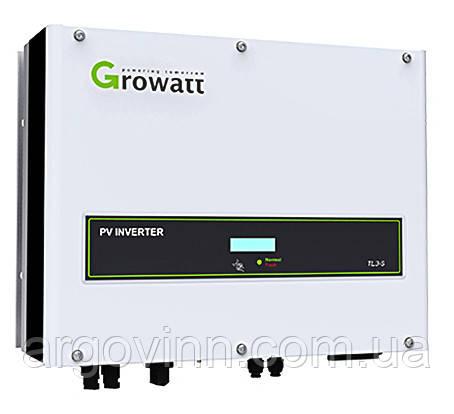 Мережевий  інвертор Growatt 8000 TL3 S 3 фазы 2 MPPT + Shine WiFi