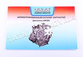 Каталог запчастей на двигатель КМ 385ВТ, KM385BT