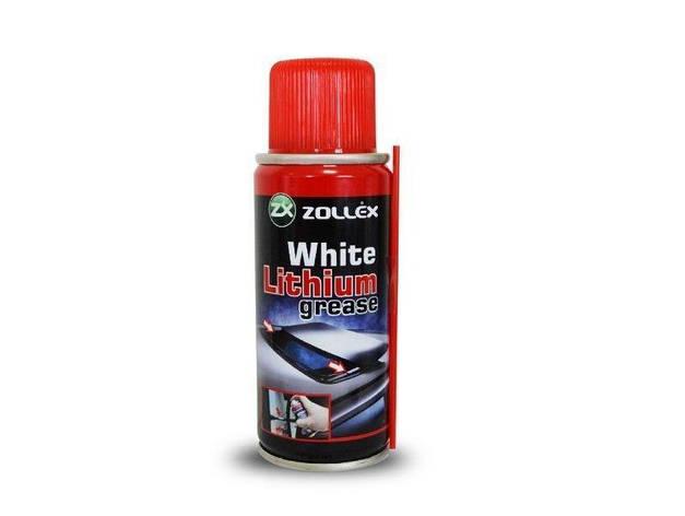 Белая литиевая смазка Zollex 110мл, фото 2