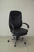 Кресло руководителя ВАЛЕНСИЯ хром Неаполь N-20 HB механизм MB AMF, фото 1