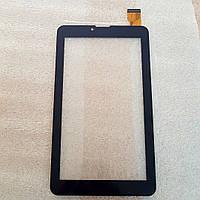 Сенсорное стекло (тачскрин) Nomi C07000, C07008 Sigma чёрное ПРОТЕСТИРОВАНО!