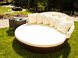 Ліжко Nicolas венге з навісом, фото 3