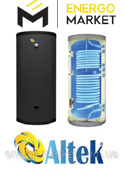 Напольный комбинированный бойлер с двумя теплообменниками ALTEK ABD-1000