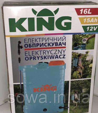 ✔️ Опрыскиватель аккумуляторный KING - PROFI | 16L, фото 2