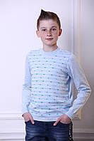 Джемпер на мальчика, голубой