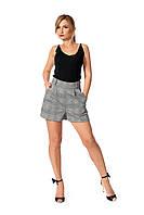Стильные женские шорты №226 (серый)