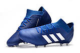 Бутсы adidas Nemeziz 18.1 FG blue, фото 2