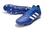 Бутсы adidas Nemeziz 18.1 FG blue, фото 3