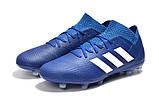 Бутсы adidas Nemeziz 18.1 FG blue, фото 4