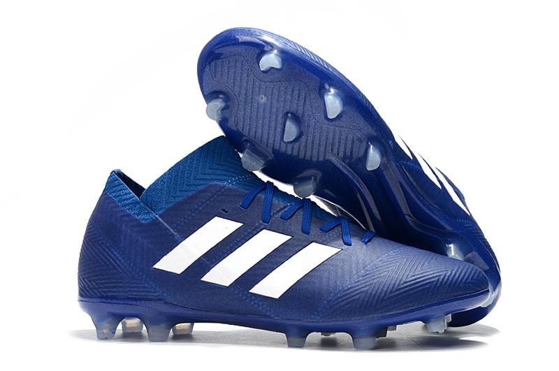 ee5d1c09 Бутсы adidas Nemeziz 18.1 FG blue - Интернет-магазин