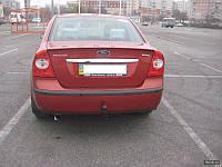 Накладка на багажник FORD FOCUS 2 седан 2007+