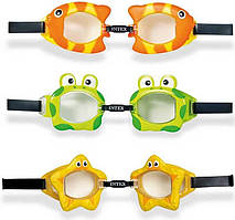 Intex Очки для плавания 55603 рыбки