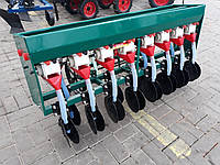 Сеялка зерновая 8-рядная дисковая с бункером для удобрения