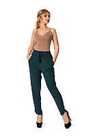 Легкие женские брюки №227 (бутылочный)