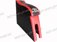 Подлокотник NEW красный с вышивкой ВАЗ 2102