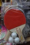 Набор ракеток для настольного тенниса, фото 2
