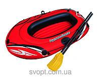 Надувная лодка с веслами (155х93 см)