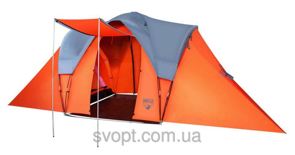 Палатка Camp Base 6-местная (610х240х210 см)